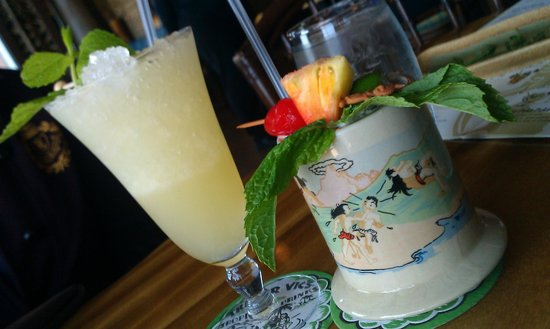 Trader Vic's: Round two