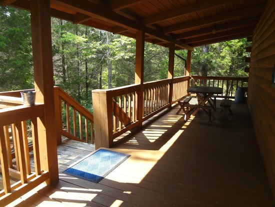 Mountain Top Inn and Resort: back porch