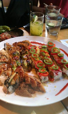 Blowfish Sushi To Die For: The rest of the meal