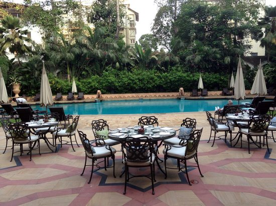 The Taj Mahal Palace: Pool side