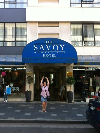 The Savoy Double Bay Hotel : Hotel Entrance