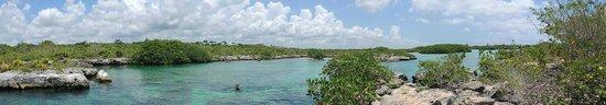 Yal-ku Lagoon: panoramica de la laguna
