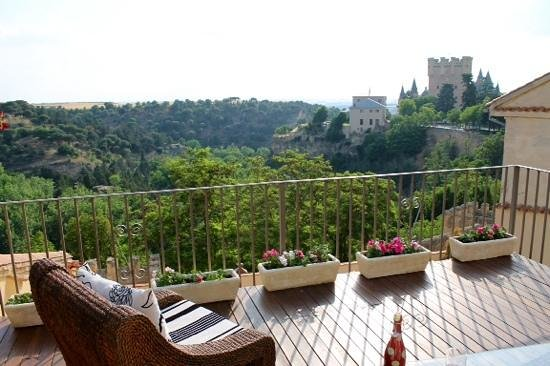 Hotel Don Felipe: view from the garden