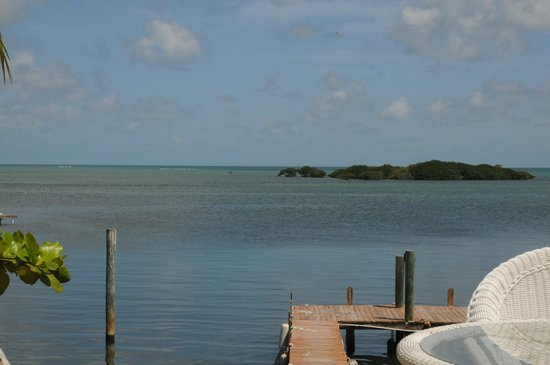 Captain Pip's Marina & Hideaway: View from Osprey apartment