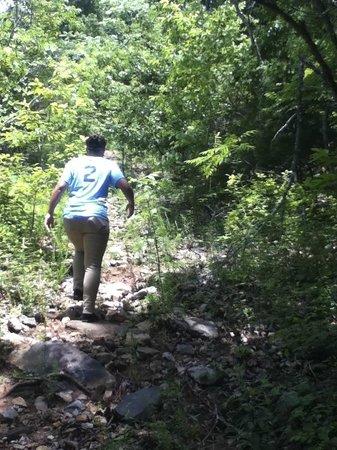 Rainbow Mountain Trails : Rocky Trail