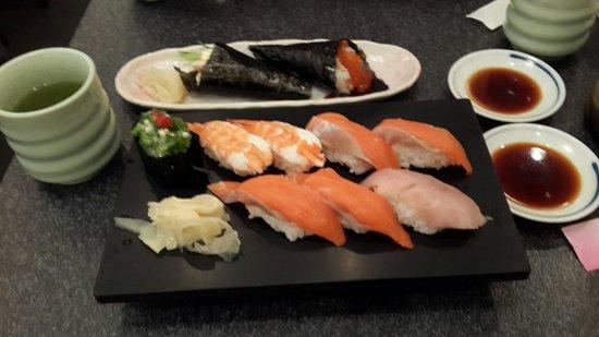Sushizanmai Ueno : Tastes better than it looks