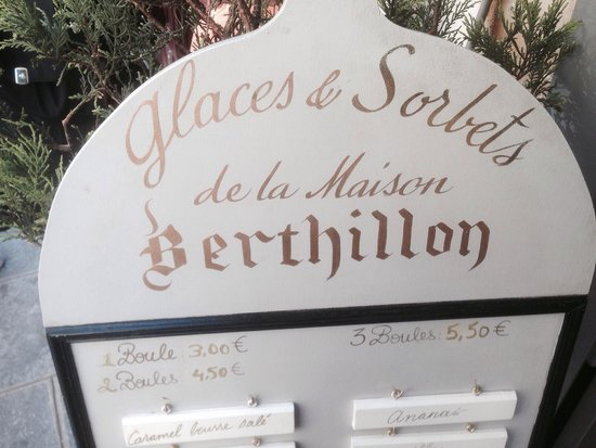 Berthillon: Prices and flavors