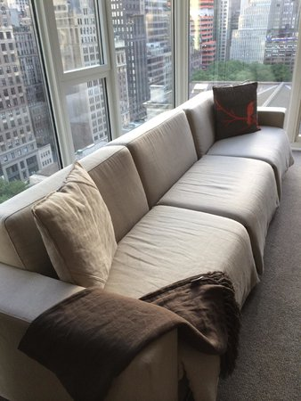 Andaz 5th Avenue: Living Room, Two Bedroom Balcony Suite