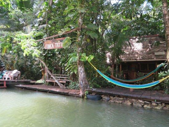 Hotel Finca Tatin: dock