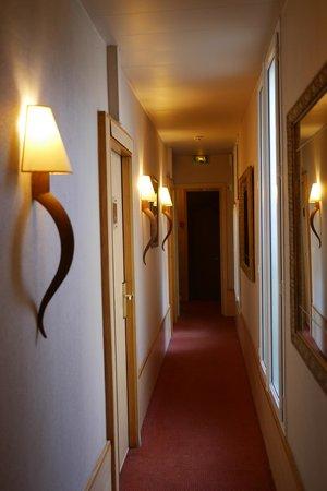 Best Western Hotel Ronceray Opera : 通路
