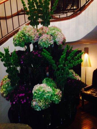 Four Seasons Hotel Casa Medina Bogota: Hotel Casa Medina detalle escaleras