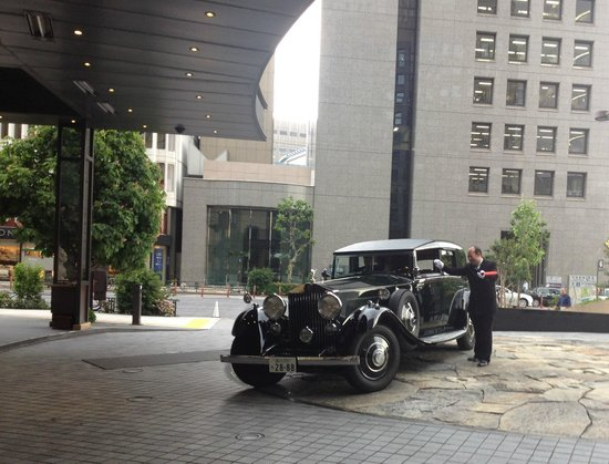 The Peninsula Tokyo : front