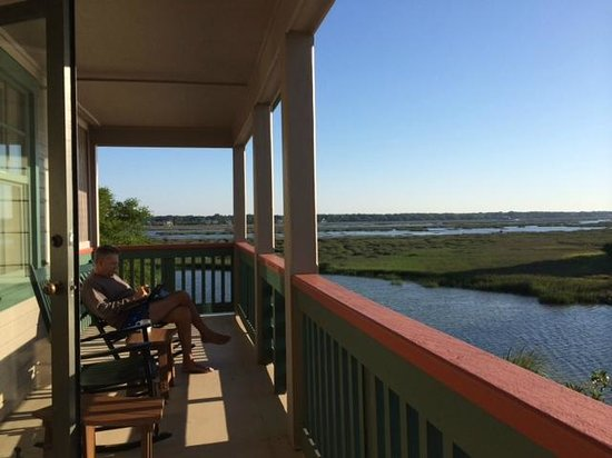 Disney's Hilton Head Island Resort: this could be you--amazing patio for relaxing