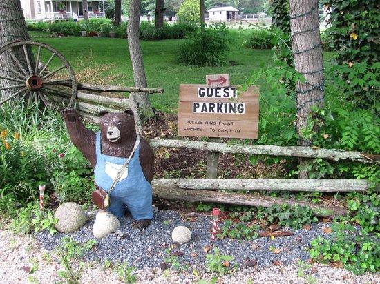 The Lightner Farmhouse: The Official Greeter to the Lighner Inn