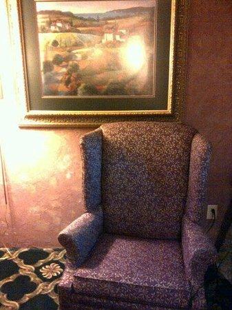 Plaza Motor Motel : Sitting area
