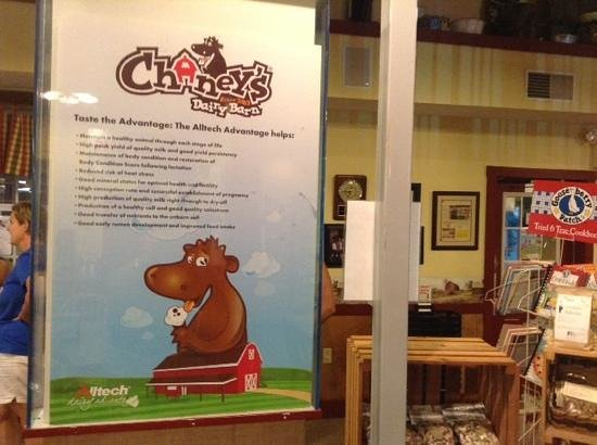 """Chaney's Dairy Barn: """"Down on the FARM """" fun; Chaney's style !!"""