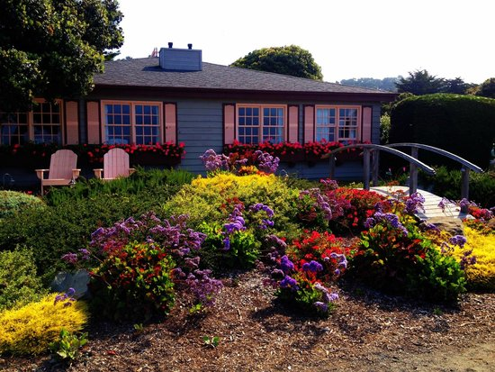 Sea Otter Inn - Blooming in the Summer