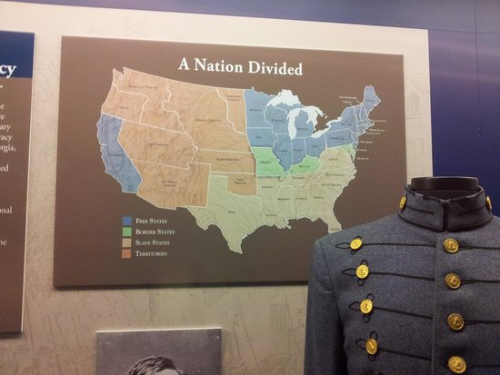 Missouri Civil War Museum: One of the many signages in the musuem; very informative