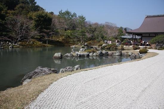 Tenryuji Temple: Garden in Tenryuji