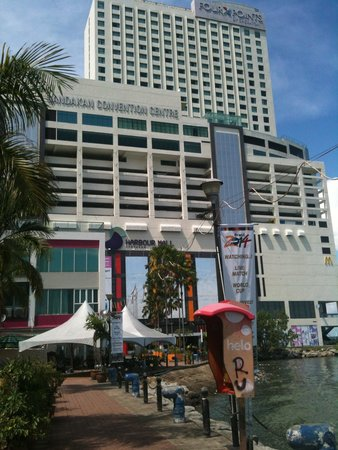 Four Points by Sheraton Sandakan : View from town