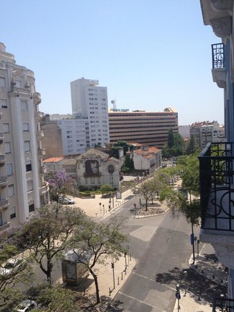 Zenit Lisboa : View from our room