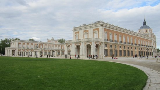 Royal Palace of Aranjuez : Vista exterior