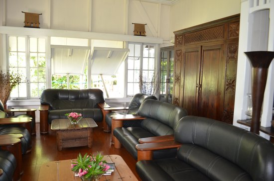 Five Princes Hotel: Sitting room in main house