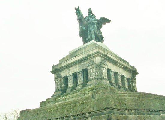 Deutsches Eck (German Corner): monumental