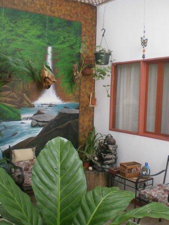 Hotel Casa Tago: Patio interno