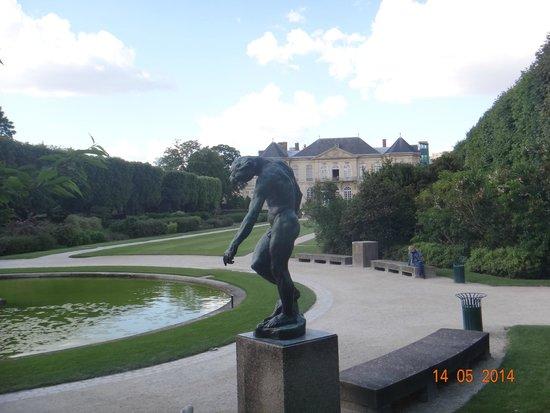 Musée Rodin : Jardim distante