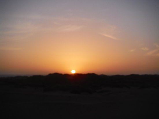 Central Coast Outdoors: Sunset at the dunes at Morro Bay