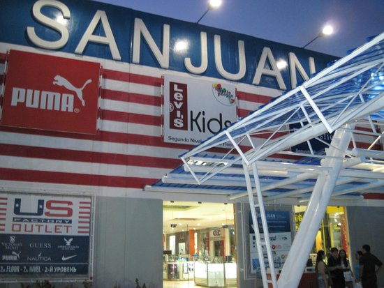San Juan Shopping Center: entrada