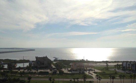 Isla Grand Beach Resort: View on the 12th floor where condos are