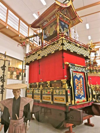 Takayama Festival Floats Exhibition Hall: float