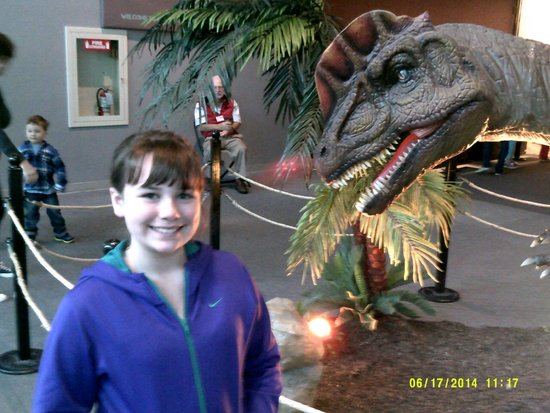 Oregon Museum of Science and Industry: In The Dinosaur Exhibit