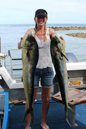 Saletoga Sands Resort & Spa: The fishing was great!