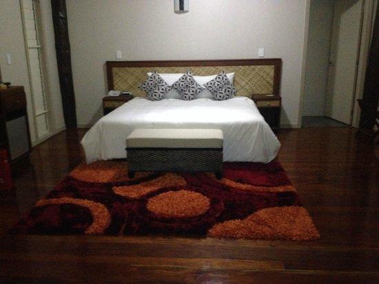 Saletoga Sands Resort & Spa: Very comfortable bed!