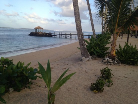 Saletoga Sands Resort & Spa: View from our fale