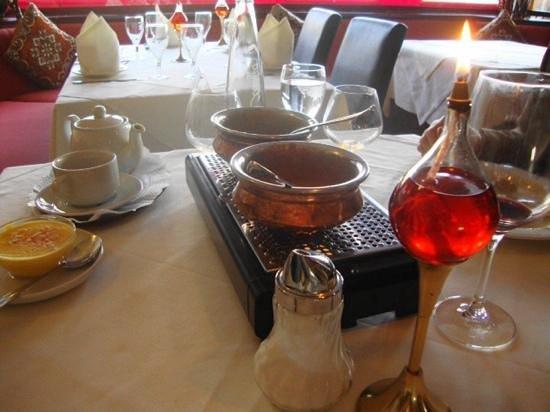 Taj Palace: Pleasent atmosphere, tasty food