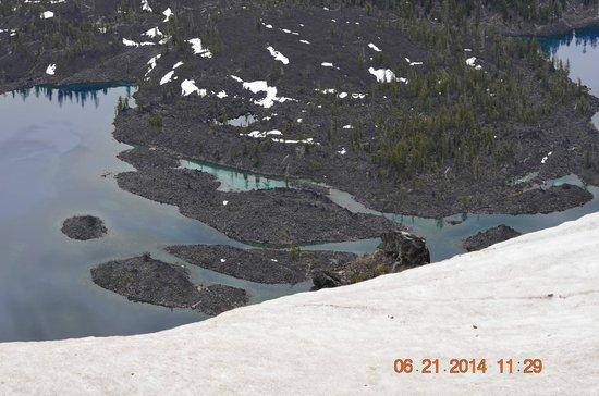 Crater Lake National Park: Oil shean (6-21-2014)