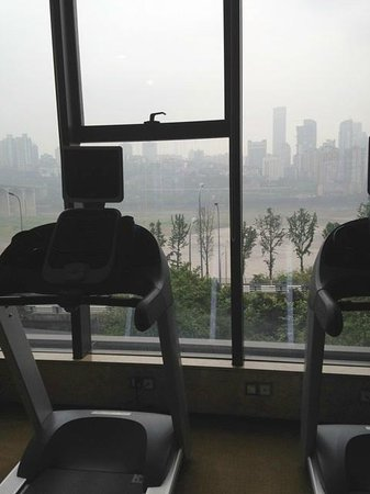Radisson Blu Plaza Chongqing: View from gym