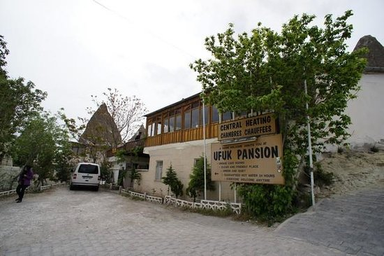 Ufuk Pension: Front of Ufuk