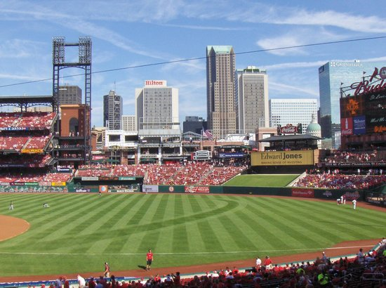 Embassy Suites by Hilton St. Louis - Downtown: View at the Cardinals game