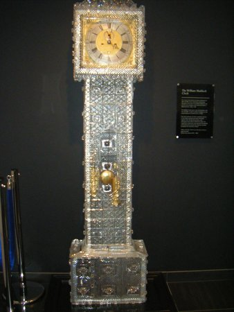Waterford Crystal: Clock tower, one of the first pieces constructed over some years