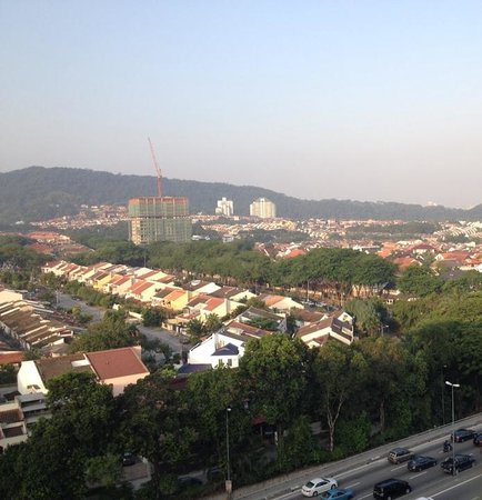 The Secret Garden Utama: This is the view from the roof-top