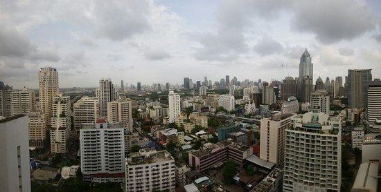 Landmark Bangkok : Room with a view over Bangkok