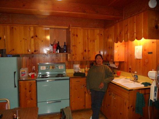 Sun Cove Resort: Main cabins kitchen