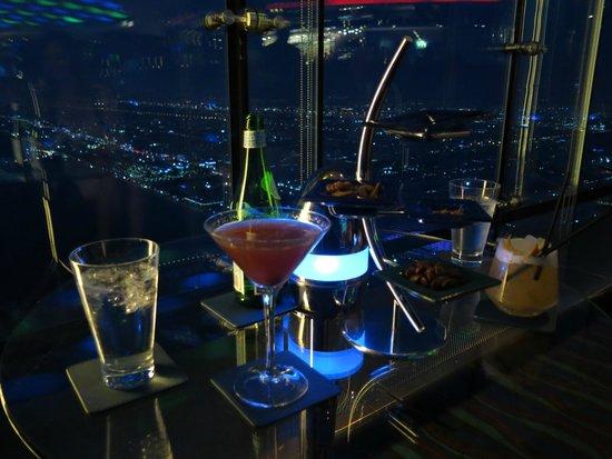 Culinary Flight: SkyView Bar