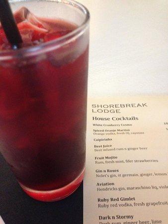 Shorebreak Lodge Cocktail