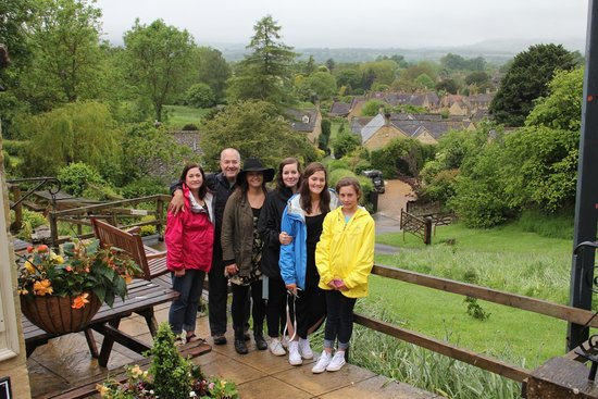 Kooky Cotswold Tours: Lee took this photo for us. The Cotswolds! Lets go back!